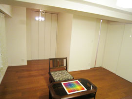 二つの洋室を一部屋にした写真