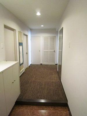 施工後 玄関・廊下