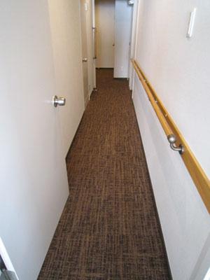 施工後 廊下