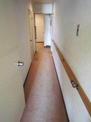 施工前 廊下