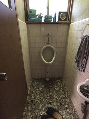 小便器とミニ手洗い