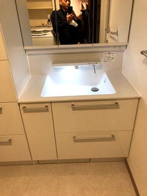 洗面化粧台 オクターブ