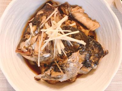 真鯛と黒鯛の煮物