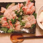 真鯛と黒鯛刺身