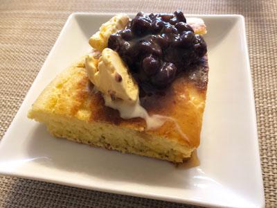 パンケーキとアイスとあんこ