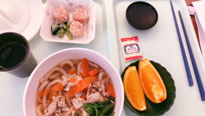 病院食昼食