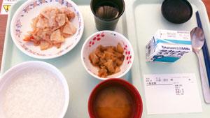 病院食朝食