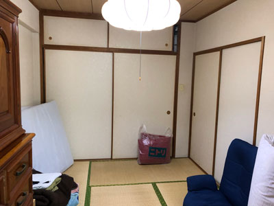 工事前和室